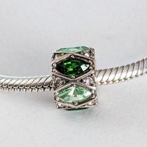 Chamilia Green Marquis Charm